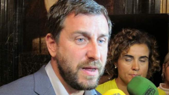 El exconseller de Salud, Antoni Comín.