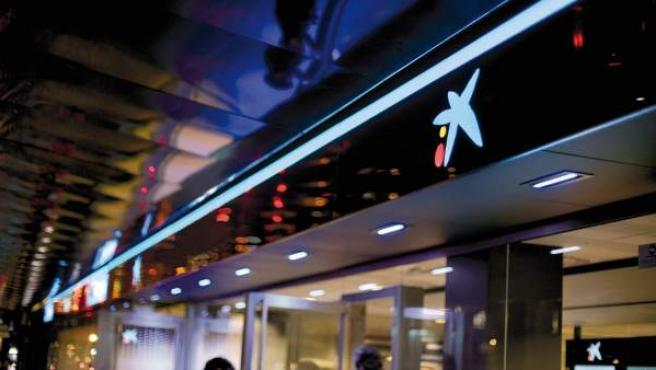 Oficina de CaixaBank, en una imagen de archivo.