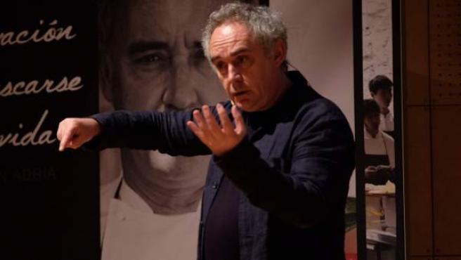 Ferran Adrià, en una imagen de archivo.