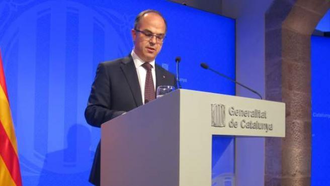 El portavoz del Govern, Jordi Turull.