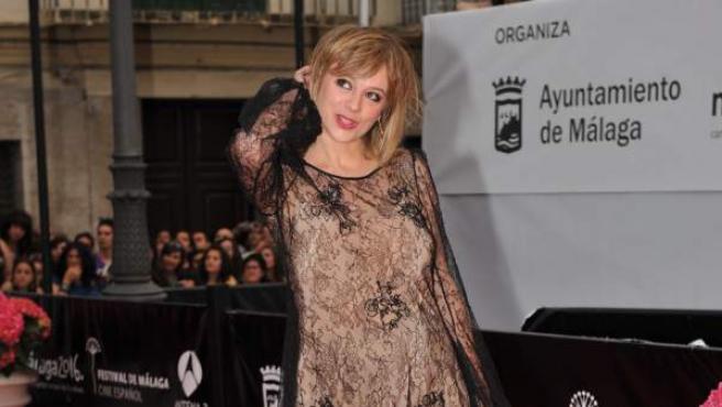Una imagen de la actriz Emma Suárez, en el Festival de Cine de Málaga.