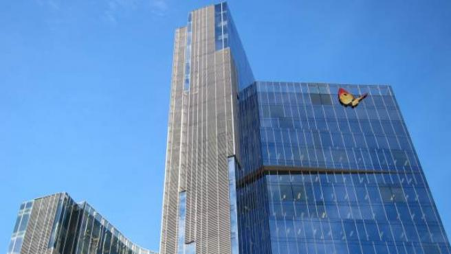 Sede central de Gas Natural Fenosa en Barcelona.