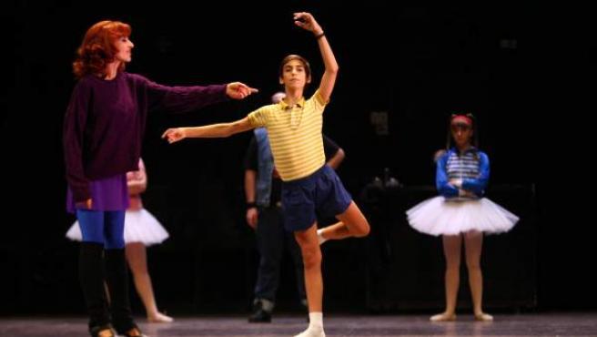 Una de las escenas del musical 'Billy Elliot'.