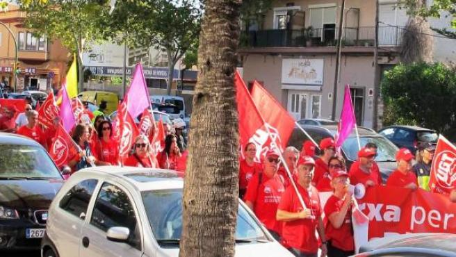 Marcha por las pensiones