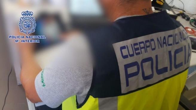 Un agente de Policía, en una imagen de archivo.