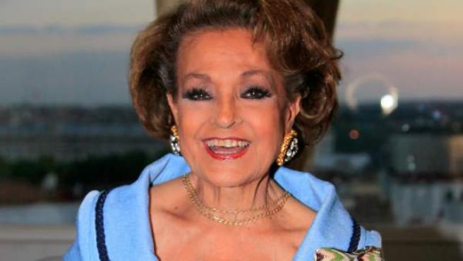 La actriz Carmen Sevilla, en una imagen de archivo.