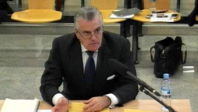 Declaración de Luis Bárcenas ante el tribunal de Gürtel.