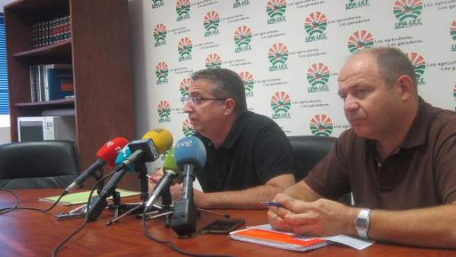 UPA-UCE Extremadura pide a la CHT un desembalse de agua para finalizar cultivos