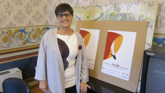 La gerente de la sociedad municipal Zaragoza Cultural, Elena Laseca