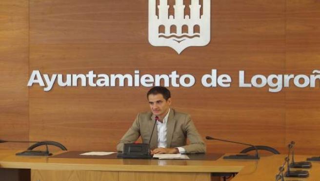 El portavoz del Equipo de Gobierno, Miguel Sainz