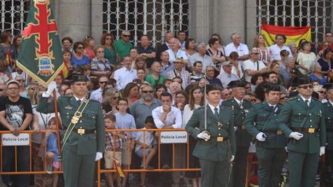 Celebración del día de la patrona de la Guardia Civil en Huelva