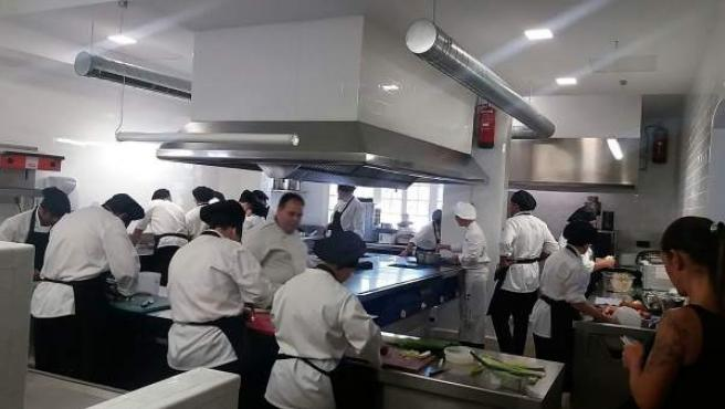 Cocina de Universo Santi