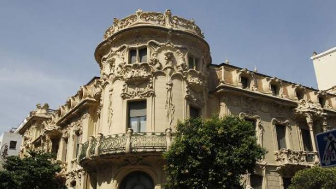 Sede de la Sociedad General de Autores y Editores (SGAE) en Madrid.