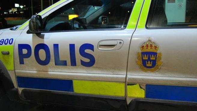 Un vehículo de la policía sueca, en una imagen de archivo.