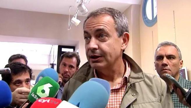 Ex presidente del gobierno, socialista José Luis Rodríguez Zapatero.
