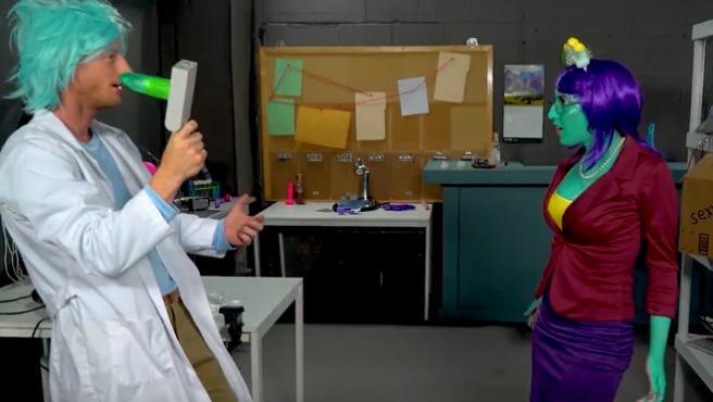 'Rick y Morty' ya tienen su propia versión porno