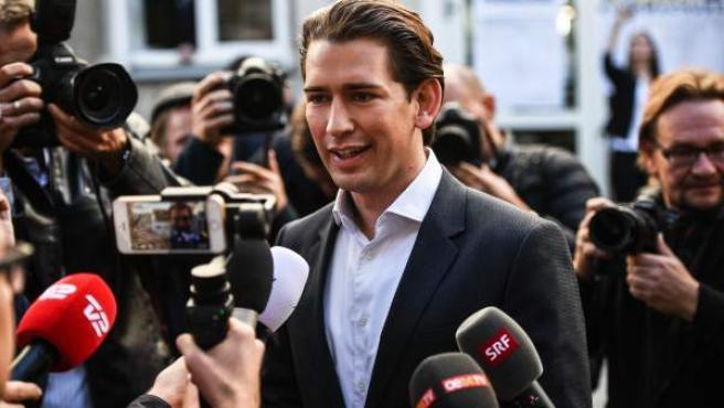 Sebastian Kurz, el líder de los conservadores austríacos.