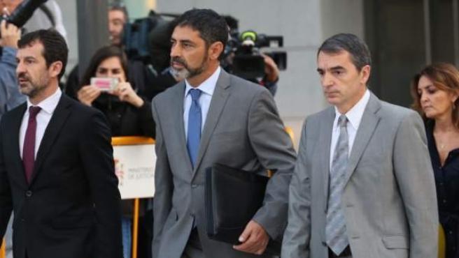 Trapero acude a declarar a la Audiencia Nacional.