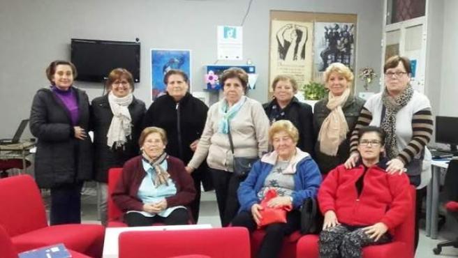 Participantes en una campaña de mujeres de Guadalinfo