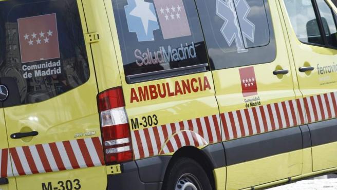 Una ambulancia del Servicio de Emergencias SUMMA 112 de la Comunidad de Madrid, en una imagen de archivo.