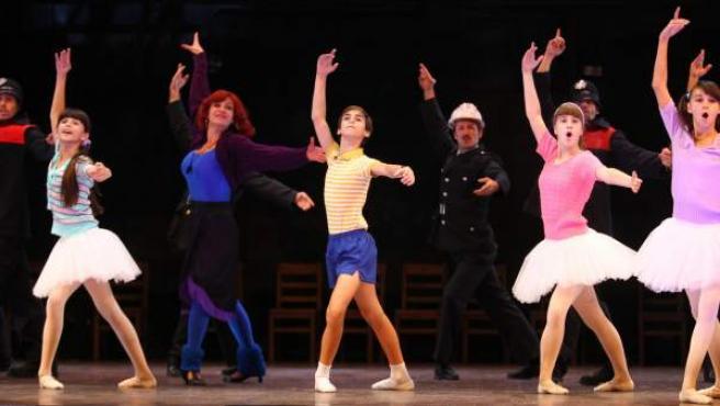 Imagen del musical 'Billy Elliot' que se representa en Madrid.