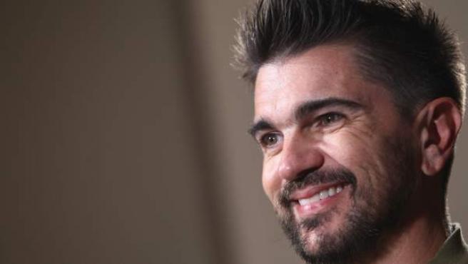 El cantante colombiano Juanes durante la entrevista con 20minutos.