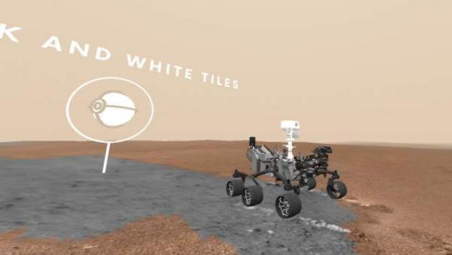 Imagen del proyecto Access Mars impulsado por la NASA y Google.