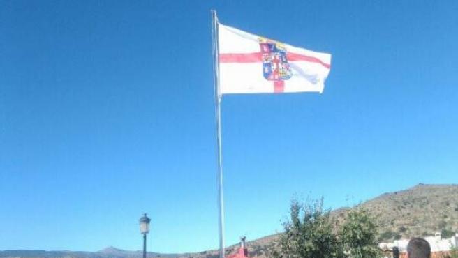 La Bandera de la Provincia de Almería ya ondea en el Municipio de Benitagla.