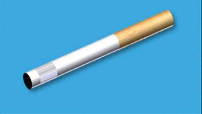 Imagen del Heat-not-burn device, el cigarrillo sin combustión.