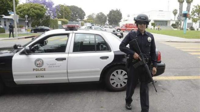 Un policía de EE UU.