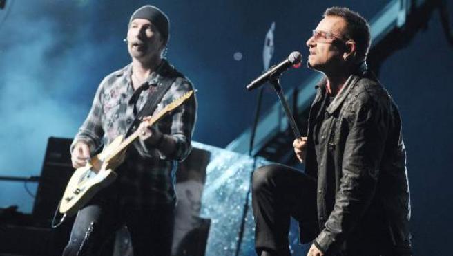 Imagen del grupo U2.
