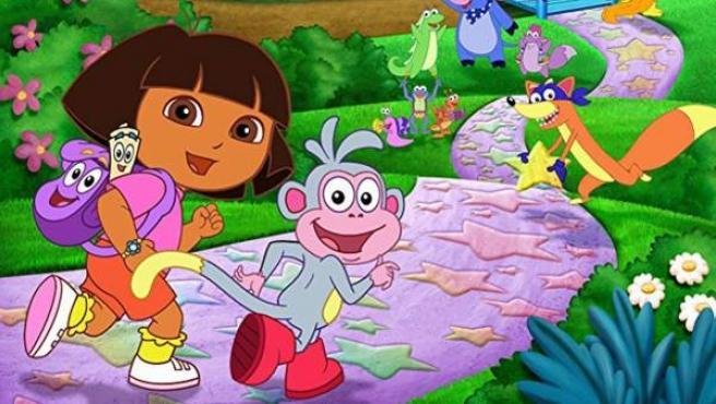 Dora, la exploradora, y el mono Botas.