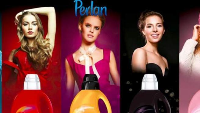 Imagen del anuncio de Perlan denunciado por Facua.