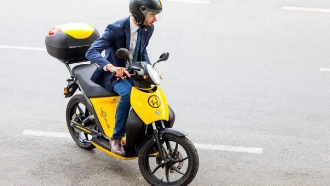 Muving desembarca en Valencia con 170 motocicletas eléctricas de alquiler