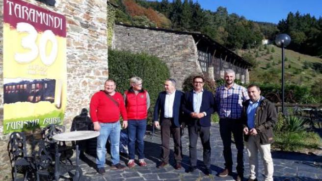 César Á., Marcos Niño, César Villabrille, J. Zapico, Javier Mtnez, J.A. González