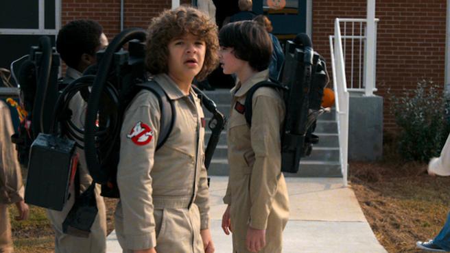 Así consiguió 'Stranger Things' usar los uniformes de 'Cazafantasmas'
