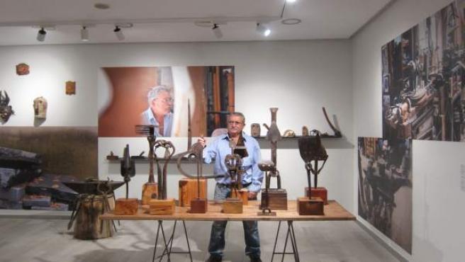 Vicente Ortí en el Centro Cultural Bancaja