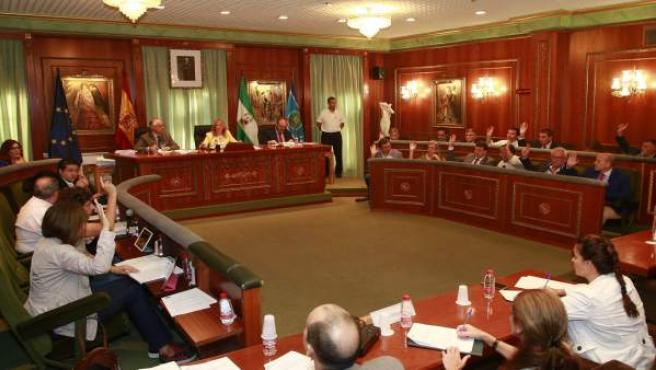 Pleno del Ayuntamiento de Marbella