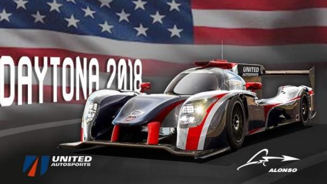 Fernando Alonso correrá las 24 Horas de Daytona con el equipo United Autosports.