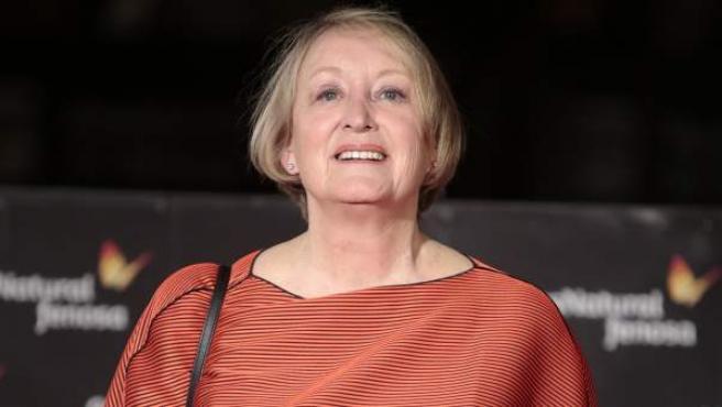 Yvonne Blake, en un acto del Festival de Málaga 2017.