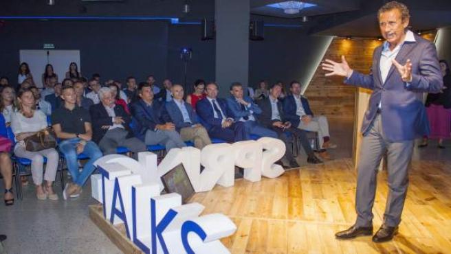 Valdano en las 'Spring Talks'