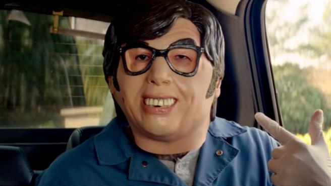 Las máscaras de Austin Powers, agotadas en EE UU por culpa de 'Baby Driver'