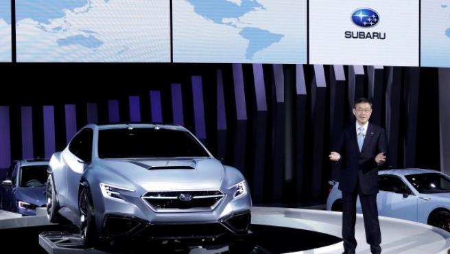 La última presentación que ha hecho Subaru ha sido en el Salón de Tokio. En imagen, el Subaru VIZIV.