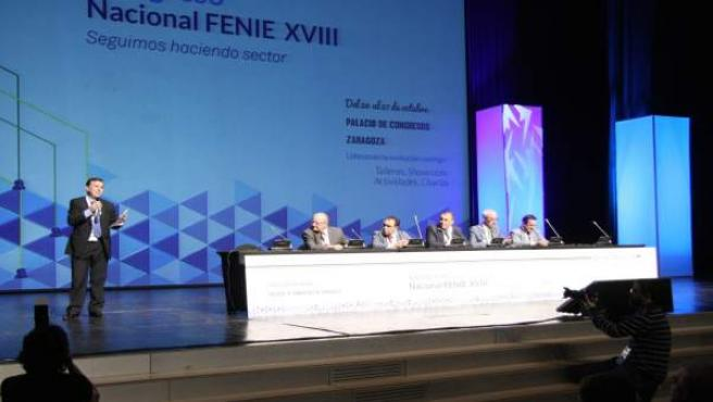 Congreso FENIE en el Palacio de Congresos de Zaragoza.