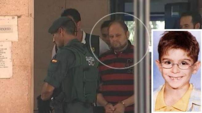 Montaje de imágenes con el convicto Antonio Ojeda 'El Rubio' y el niño Yéremi Vargas.