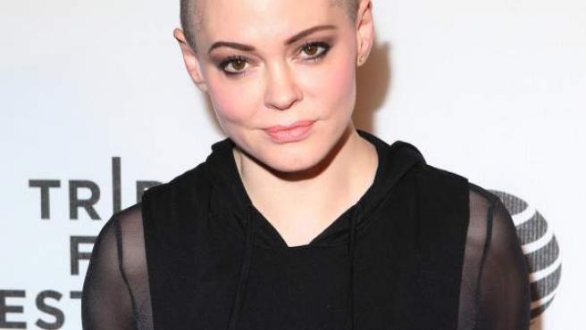 La actriz Rose McGowan