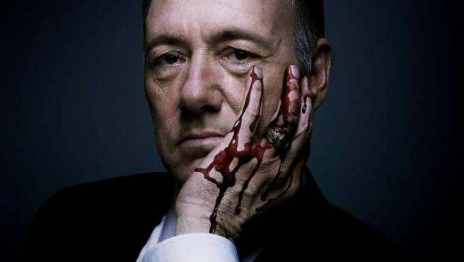 Promoción de la serie 'House of Cards'.
