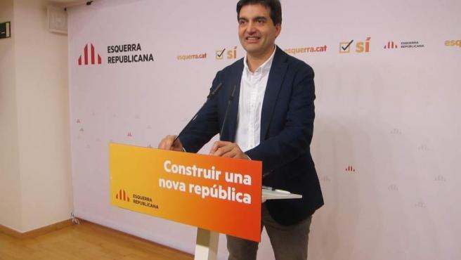 Salvador Sabrià, de ERC.