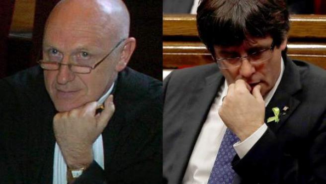 Paul Bekaert, abogado de Carles Puigdemont.