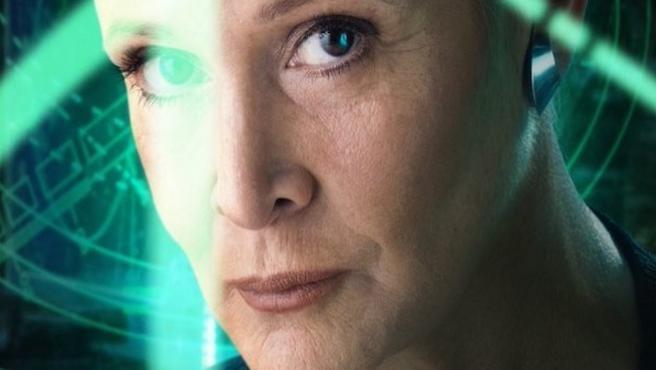 El consejo de Carrie Fisher a Adam Driver para triunfar en 'Star Wars'
